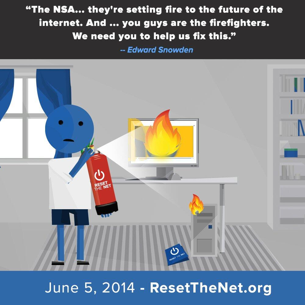 Reset The Net, Privacy